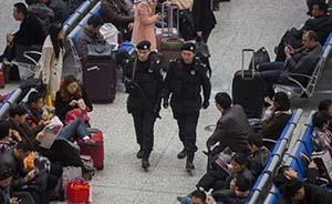 上海继续最高标准反恐,24小时武装巡控重点区域