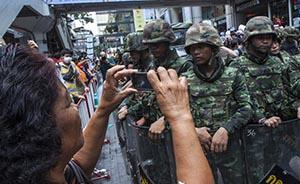 你有枪炮我有推特:泰国青年通过社交媒体抗议政变