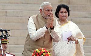莫迪就职印度总理,推崇中国发展模式