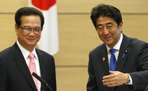 """日本菲律宾炒作中国南海威胁,安倍欲组""""反华""""舰队"""