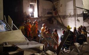 直击| 液化气瓶爆炸致上海一民宅坍塌,4小时救出被埋老太