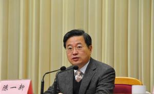 温州模式30年|独家专访浙江省委常委、温州市委书记陈一新