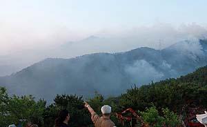 山东威海大面积明火已被控制,暂无人员伤亡报告