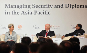 傅莹舌战日美代表:中国是海洋公共安全产品提供者