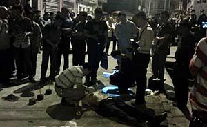 贵州男子酒后持菜刀寻妻,被警方持枪击毙