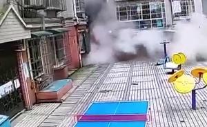 贵阳9层民房坍塌视频曝光:如爆破般轰然垮塌