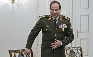 埃及前军方领导人塞西赢得总统选举