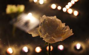 公安部政治部主任赴肃宁,向牺牲干警及离世的政委妻子致哀
