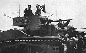 攻入诺曼底兵器解密①:装甲兵老炮临危受命