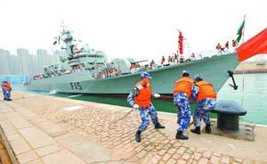防擦枪走火,中外海军首次联演《海上意外相遇规则》