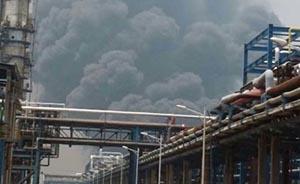 南京扬子石化厂区突发爆炸,4个消防中队赶赴救援