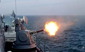 解放军汕头附近海域实弹演习,11日开始每日4小时