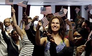 3万中国人去年移民美国,移民人数排赴美移民第5名