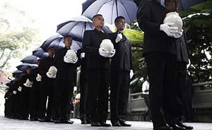 忠魂归国,中国远征军抗日阵亡将士部分遗骸归葬国殇墓园