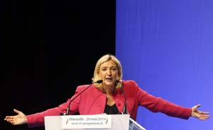 """""""法国最危险的女人""""勒庞言论集:向右!向右!向右!"""