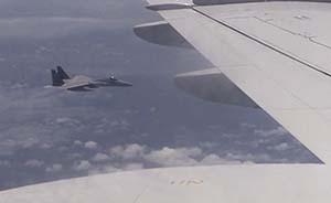 """中国战机""""异常接近""""日侦察机,这次轮到日本严重抗议了"""