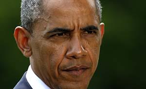 奥巴马正迫切考虑对伊拉克和叙利亚武装分子发动空袭