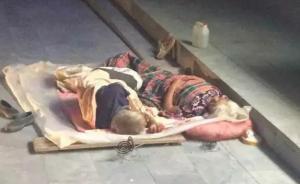 郑州老人露宿街头遭轿车碾压身亡,肇事逃逸司机已被抓