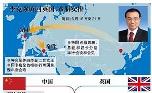 李克强访英前《泰晤士报》撰文:呈现真正中国,缓解两国分歧