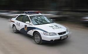 网曝甘肃华池一车主遭多名巡警殴打,警方回应称已开展调查
