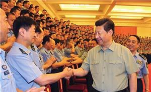 习近平:空军党委要切实抓好党建,建设攻防兼备强大空军