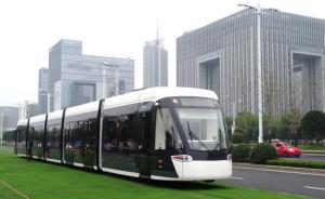 """南京首条有轨电车开通1年惹尴尬:乘客稀少、""""慢如牛车"""""""