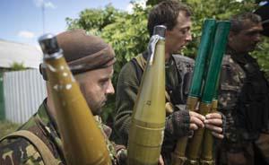英记者深入乌克兰叛军基地,称东部叛军都是普通民众