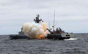 """不理日本抗议,韩国独岛海域军演如期举行""""防朝潜艇入侵"""""""