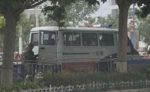 暴徒驾车冲撞叶城公安局13人被击毙