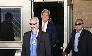 快新闻|又一个不可能完成的任务,克里抵达伊拉克调和