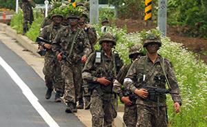 韩国枪击案肇事兵自杀未遂前,留言致歉死者家属但未提原因