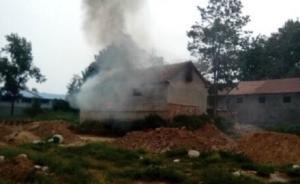 官方回应山东村民强拆中被烧死:非他人纵火,系死者自身所致