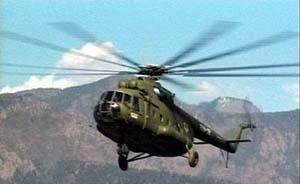 韩媒称朝鲜1架直升机在中朝边境坠毁,拒中国救援