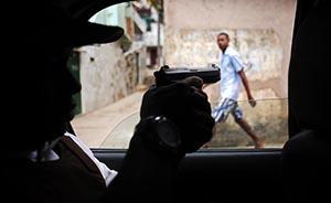 巴西贫民窟枪文化