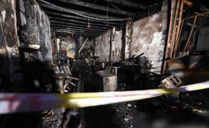 芜湖餐馆火灾17人死事故原因初步查明:液化气罐瞬间爆燃