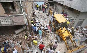 世界头条|印度发生两起塌楼事故,已致22人死亡