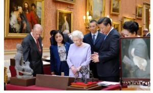 英国女王官方推特密集刷屏,直播习近平访英细节