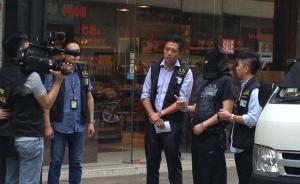 """香港警方:两名打死内地游客男子22日提堂,暂控""""误杀罪"""""""