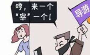 中青报:导游收受回扣是刑事违法,对其不查让低价团愈演愈烈