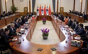 中韩反对朝鲜半岛开发核武,明年开谈海域划界