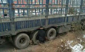 长春一男子跪着吊死于路边货车死状蹊跷,警方:死因仍在调查