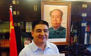 """陈光标:我是""""世界首善""""了,与雷锋只差毛主席题字"""