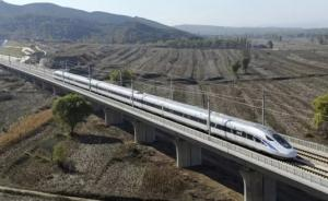 """中国标准动车组跑出时速385公里,通过高速""""大考"""""""
