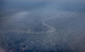 大雾笼罩上海14小时后,PM2.5飙升空气重度污染