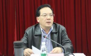 四川省广安市委常委蒋英胜涉嫌严重违纪接受组织调查