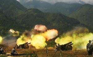 解放军14集团军军演全程打真弹,坦克距步兵50多米处开火