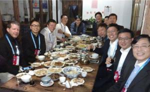中国互联网顶级饭局再现江湖:杨元庆曝马化腾最能喝最能劝酒