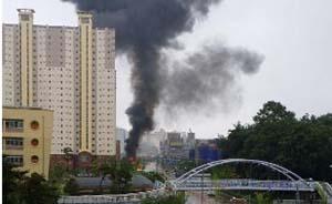 韩国一架直升机市中心坠毁,机上5人全部遇难