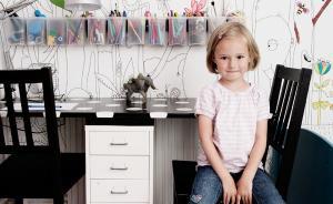 幼儿园学霸的书桌间长什么样?