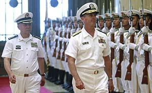 美国海军作战部长参访解放军北海舰队:管控美中海军分歧